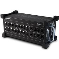 Allen & Heath AB168 16 XLR Input / 8 XLR Output Portable Audiorack and Preamp ab-168 Product Image