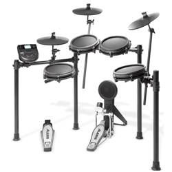 Alesis Nitro Mesh Kit 8 Piece Electronic Drum Kit with Mesh Head  Product Image