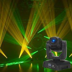 American DJ POCKET-PRO Mini Moving Head Light with 25W LED Source Product Image