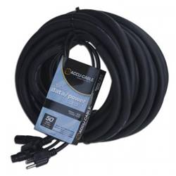 American DJ SKAC50 Audio Data and Power 50 Foot AC/XLR Combo Cable Product Image