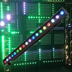 American DJ Pro ULTRA-KLING-BAR18 1 Meter 18x3W RGB Linear Light Fixture To Display Low Resolution Video Product Image
