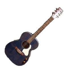 Art & Lutherie 047086 LEGACY Concert 6 String RH Acoustic Electric Guitar - Denim Blue Product Image