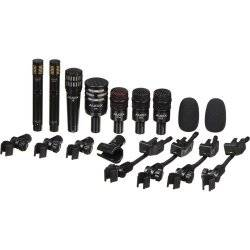 Audix DP7 - Professional Seven Piece Drum Microphone Kit for Recording and Live Sound Reinforcement Product Image