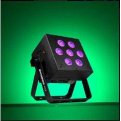 Blizzard SKYBOX EXA RGBAW+UV Par Fixture w/Rechargeable Battery & Wireless DMX-Black Product Image