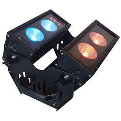 Blizzard BLOK 4 IP Outdoor Rated 4 25W RGBAW COB LEDs Dual Bar Light with Anyfi Wireless DMX Product Image