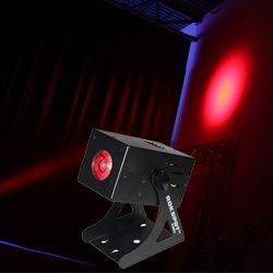 Blizzard ROKSPOT RGBW LED Pinspot Fixture with Super-Sharp 8 Degree Beam Angle Product Image