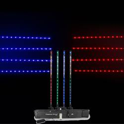Chauvet Dj Freedom Stick Pack Lighting Package With 4 Sticks Multi Charger Irc 6 Remote And Carrying Bag