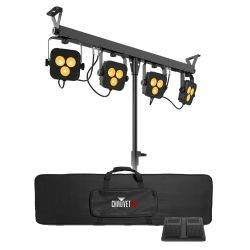 Chauvet DJ 4Bar-Quad-LT-BT RGBA LED Wash Light Package with D-Fi and Bluetooth Compatibility Product Image