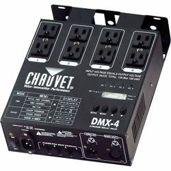 Chauvet DJ DMX4 2.0 Four Channel Dimmer/Relay Pack  Product Image