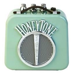 Danelectro DN-10NA Honeytone Mini Guitar Amplifier in Aqua Product Image