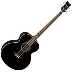 Dean EAB CBK 4 String RH Acoustic-Electric Bass - Classic Black Product Image
