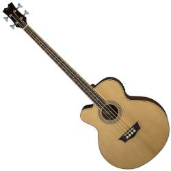 Dean EABC L Cutaway 4 String LH Acoustic-Electric Bass - Natural Product Image