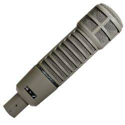 Electro Voice RE 20 Broadcast Dynamic Cardioid Announcer Microphone With Variable D ev-re-20 Product Image