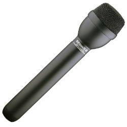 Electro Voice RE50N/D-B Black Dynamic Omnidirectional Interview Microphone with N/DYM Capsule Product Image
