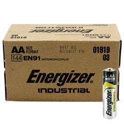 Energizer EN-91-144pack AA Industrial Battery 144 Pack Product Image
