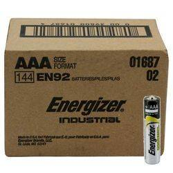 Energizer EN-92-144pack AAA Industrial Battery 144 Pack Product Image