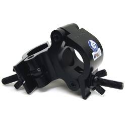 Global Truss PRO-SWIVEL-CLAMP-BLK Heavy Duty Dual Swivel Clamp for 50mm Tubing-Black Product Image