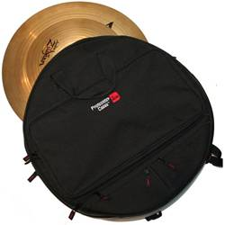 Gator MI GP-CYMBAK-22 Padded Cymbal Backpack for up to 6 22 Inch Cymbals Product Image