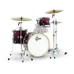 Gretsch Drums CT1-J403-SAF Catalina Club 3 Piece Drum Shell Pack, Satin Antique Fade (discontinued clearance) Product Image