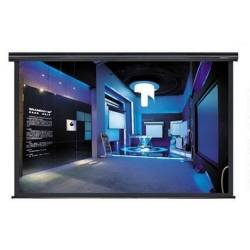 Grandview GV-CMO092 CB-MIR 92 Integrated Cyber Motorized Screen with Black Casing 16:9 Format Product Image