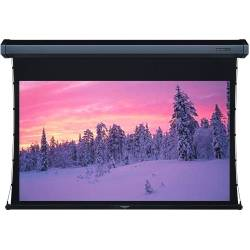 Grandview GV-TT092 LF-MIR 92 Integrated Tab-Tension Motorized Screen with Black Casing 16:9 Format Product Image