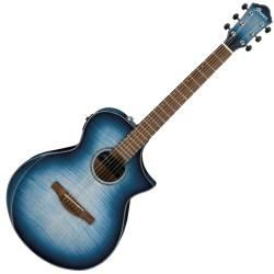 Ibanez AEWC400-IBB AEWC Series 6 String RH Acoustic Electric Guitar-Indigo Blue Burst High Gloss Product Image