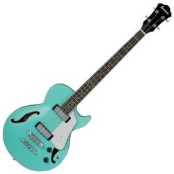 Ibanez AGB260-SFG Artcore Vibrante 4 String RH Semi-Hollowbody Acoustic Bass Guitar-Sea Foam Green Product Image