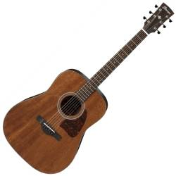 Ibanez AW54-OPN Artwood Series 6 String RH Acoustic Guitar-Open Pore Natural Product Image