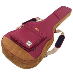 Ibanez IAB541WR Powerpad Designer Collection Gig Bag for Acoustic Guitar-Wine Red Product Image