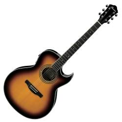 Ibanez JSA20-VB Satriani Signature 6 String RH Acoustic Electric Guitar with Case-Vintage Burst High Gloss Product Image