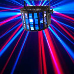 Chauvet DJ MINI KINTA IRC 3W RGBW DMX and IRC-6 Controllable Effects Light Product Image