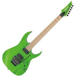Ibanez RGR5220M-TFG Prestige 6 String Electric Guitar - Transparent Fluorescent Green Product Image