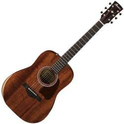 Ibanez AW54JR-OPN Artwood Series Acoustic 6 String Guitar - Open Pore Natural  Product Image