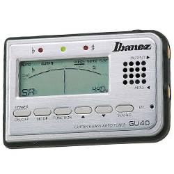 Ibanez GU40-d Tuner for Guitar and Bass with speaker and microphone (discontinued clearance) Product Image