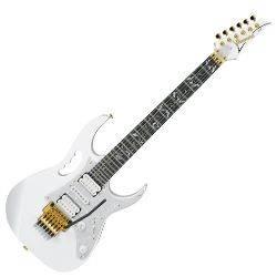 Ibanez JEM7V-WH White Steve Vai Jem Prestige Signature 6 String RH on