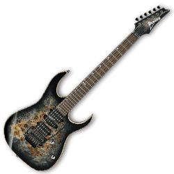 Ibanez RG1070PBZ-CKB-d RG Premium Series 6 String RH Electric Guitar in Charcoal Black Burst (discontinued clearance)  (Prior Year Model) Product Image