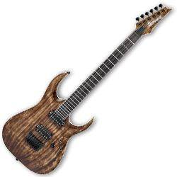 Ibanez RGAIX6U-ABS-d RGA Iron Label Series 6 String RH Electric Guitar in Antique Brown Stained (discontinued clearance)  (Prior Year Model) Product Image