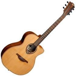 Lag T170ACE Auditorium 6 String RH Acoustic-Electric Guitar - Natural Product Image