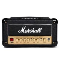 Marshall DSL1HR 1W Valve 2 Channel Tube Guitar Amplifier Head dsl-1-hr Product Image