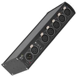 Martin Lighting DMX 5 3 Splitter 3-pin XLR Input and Outputs DMX Splitter /  Booster