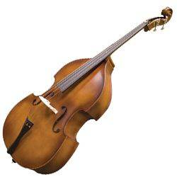 Menzel MDBT95 Acoustic Double Bass with Bag Product Image