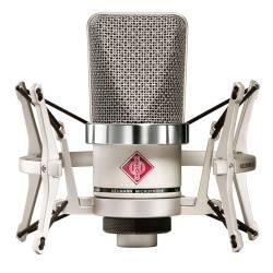 Neumann TLM 102 STUDIOSET Large-Diaphragm Condenser Microphone in Nickel-Studio Set Product Image