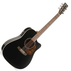 Norman 028054 Protege B18 CW Cedar Black 6 String Acoustic Electric Guitar Product Image