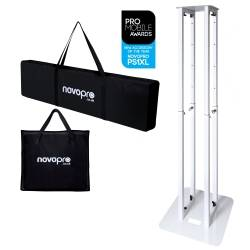 Novopro PS1XL Variable Height Podium Stand 68.8 Inch Max Height Product Image