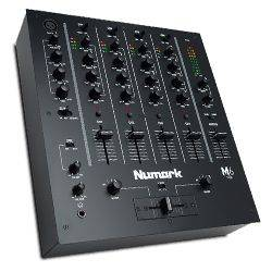 Numark M6 USB BLACK 4 Channel USB DJ Mixer