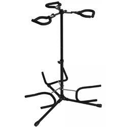 On Stage Stands GS7353B-B Triple Flip-It Guitar Stand Product Image