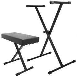 On Stage Stands KPK6500 Keyboard Stand and Bench Pak Product Image