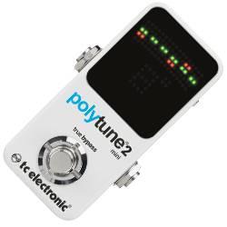 TC Electronic PolyTune 2 Mini Polyphonic Guitar Tuner Product Image