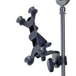Profile PTH100 Adjustable Tablet and Phone Holder for Mic stands and Instrument Stands pth-100 Product Image