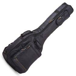 RockBag RB20510B Black Deluxe Acoustic Bass Guitar Bag by Warwick (discontinued clearance) Product Image